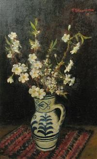 cherry flowers by paul atanasiu