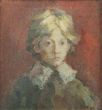 boy portrait by gheorghe labin