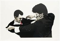 frank and glen by robert longo