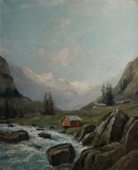 paysage d'alpage by godchaux