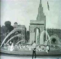 the fountain at washington square park by erik guide haupt