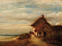 la chaumière près de la mer by jules dupré