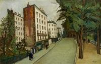 buttes-chaumont, avenue simon bolivar by alphonse léon quizet