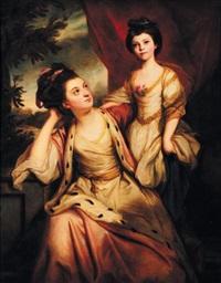 jeune mère et sa fille by reynolds