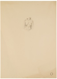 untitled drawing (torso) by michael andrews