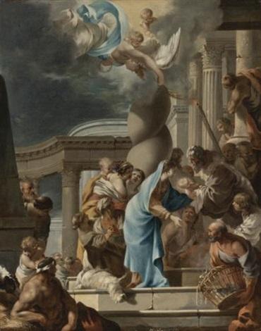 la présentation au temple by sébastien bourdon