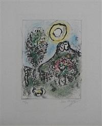 le baou de st. jeannet ii by marc chagall