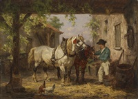 feierabend by willem jacobus boogaard