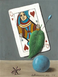 queen of hearts with jack and ball by gertrude abercrombie