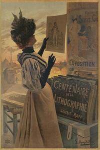 exposition du centenaire de la lithographie by frederic hugo d' alesi