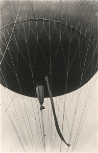columns of the museum of the revolution, balloon (2 works) by alexander rodchenko