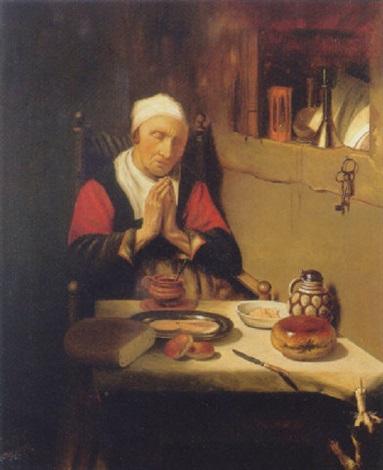 grace before meat by petrus johannes m piet cottaar
