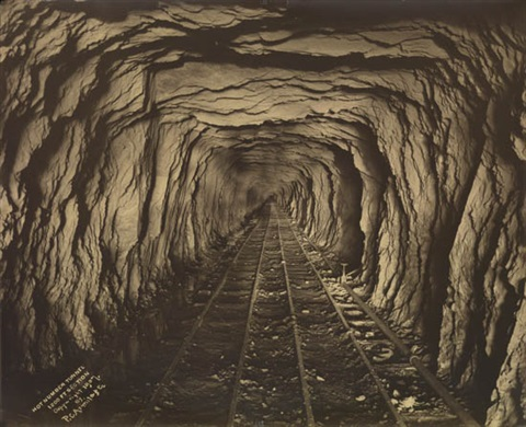 hot number tunnel 1200 foot section by percy chester armitage