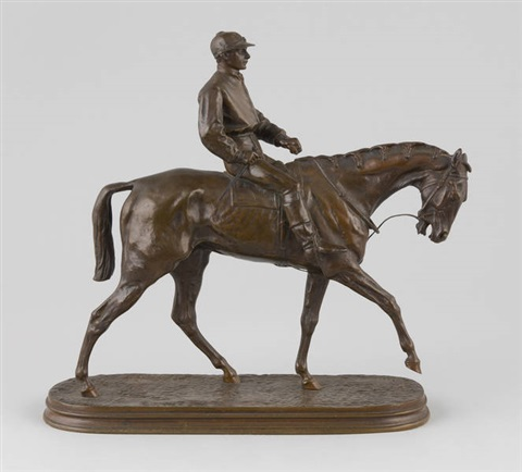 jockey à cheval n°2 by pierre jules mène