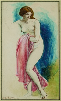 female nude by william edward frost