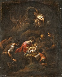 jézus születése by giovanni andrea de ferrari