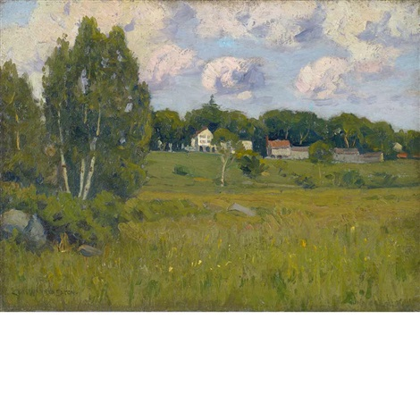 colebrook meadows by charles warren eaton