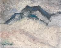 vue de montagne by georges gimel