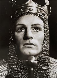 laurence olivier as henry v by angus mcbean