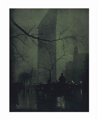 flatiron - evening, 1905 by edward steichen