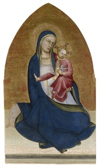 the madonna of humility by lorenzo (piero di giovanni) monaco