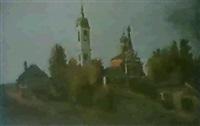 les deux eglises by nicolai yablokov