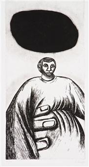 la mano di pietra by enzo cucchi