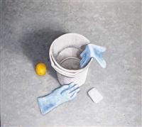 grey bucket by mark pepper