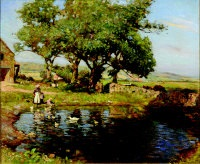 the farm pond by frederick william jackson