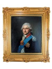 portret stanisława augusta poniatowskiego by marcello bacciarelli