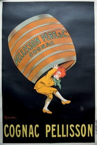 cognac pellisson by leonetto cappiello