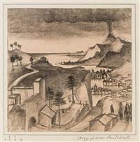 skizze zu einer landschaft by franz sedlacek