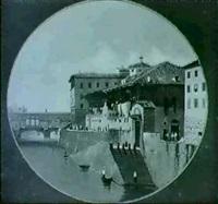 veduta dell'antiche tintorie a firenze veduta della porta s. gallo a firenze by torello moricci