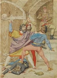 the death of richard ii by richard dadd