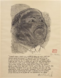 martin luther king jr. by ben shahn