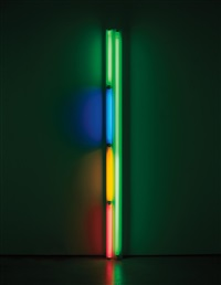 untitled (to ksenija) by dan flavin