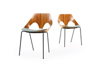 'jason' chairs by kandya (set of 2) by carl jacobs
