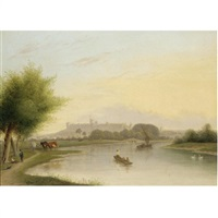 views of windsor (pair) by george hardy