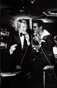 sammy davis jr i johnny hallyday by leonard de raemy