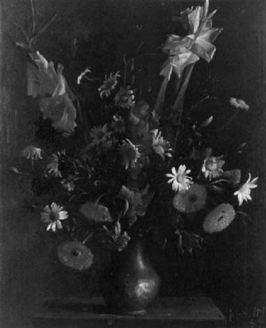 fleurs dans un vase détain by georges arditi