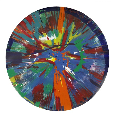 beautiful for brian and jean painting by damien hirst