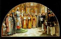 die eröffnung der russischer orthodoxen kirche in wien by karl jobst