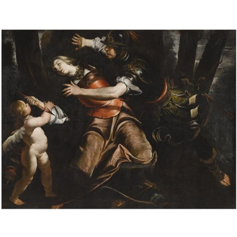 rinaldo intervening in armidas suicide by gioacchino assereto