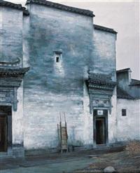 sidewall of old house by li zhongliang