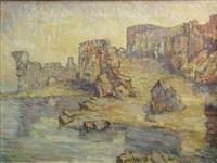 walls in cetatea alba by marius bunescu