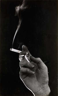 cigarette in hand by steef zoetmulder