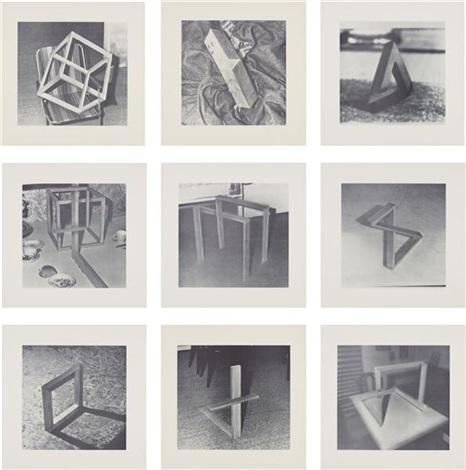 neun objekte portfolio of 9 by gerhard richter