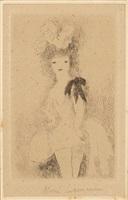 fille aux plumes; trois filles; six filles; huit filles (4 works) by marie laurencin