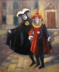 carnaval in venice by teodor vescu