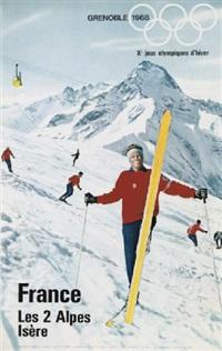 grenoble, les 2 alpes by karl machatcheck